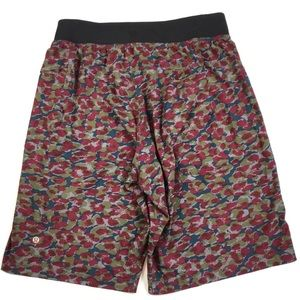 Lululemon Men's Urban Camo Shorts, linerless, M